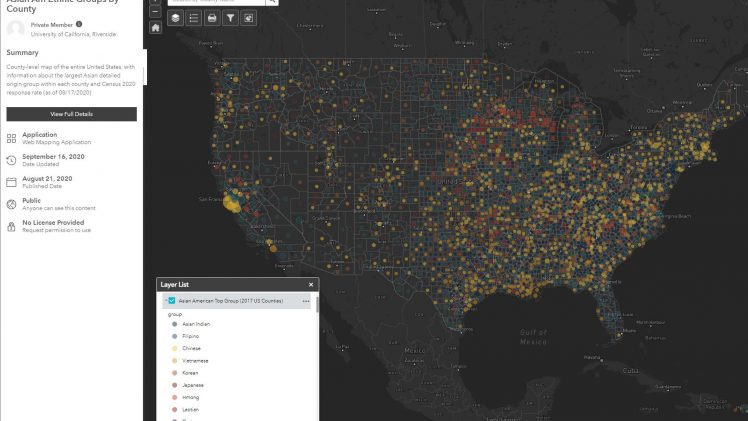 Mapping the AAPI Community