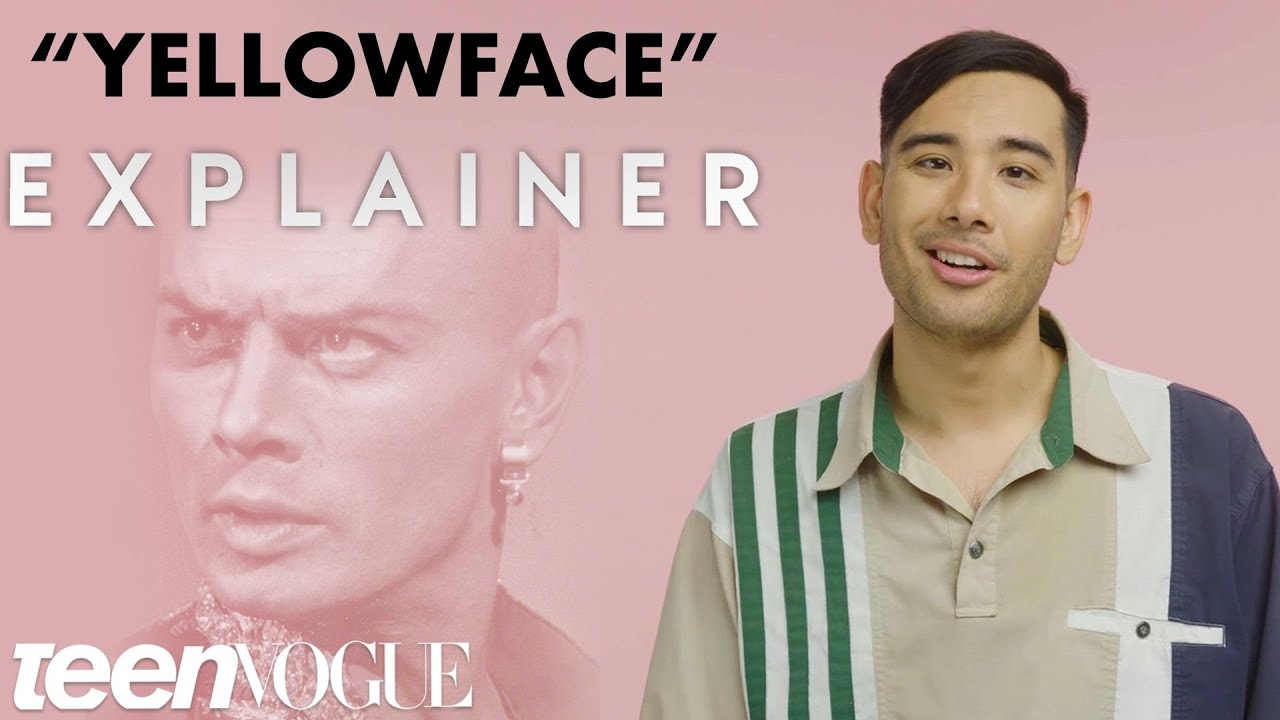 The History of Yellowface   Teen Vogue